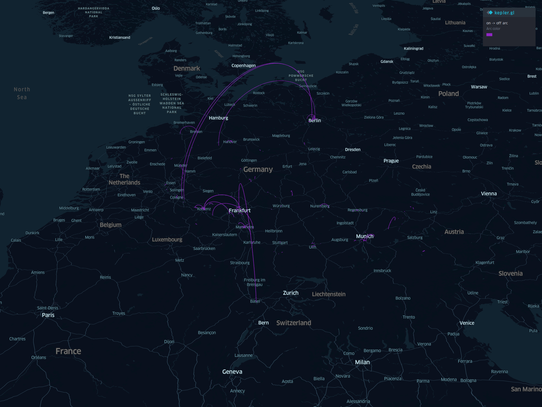 Visualizing my trips from Google Maps with Kepler gl – Incentergy
